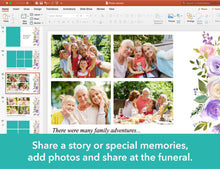 Share this memorial slide show at the memorial