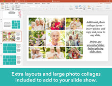Extra layouts for funeral slideshow included