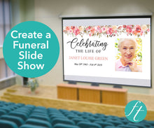 Spring Flowers Funeral Slide Show Template