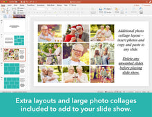 Waves Funeral Slide Show Template