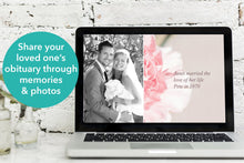 Share your loved one's obituary with a powerpoint presentation