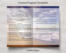 Inside Funeral Program Template