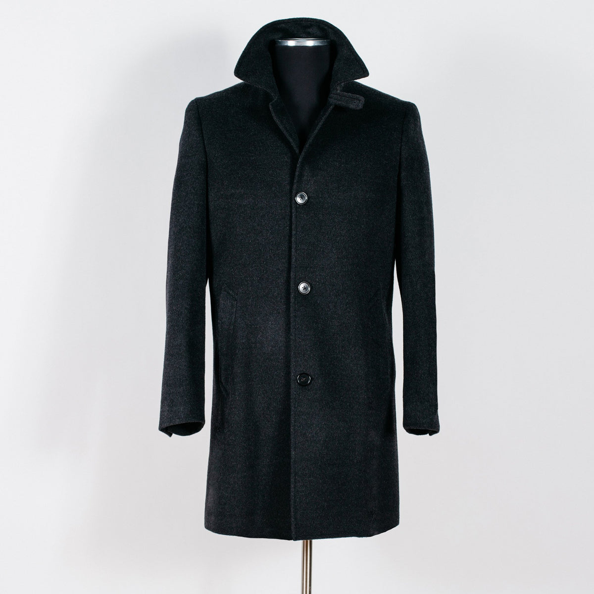 Hunter Topcoat - Charcoal