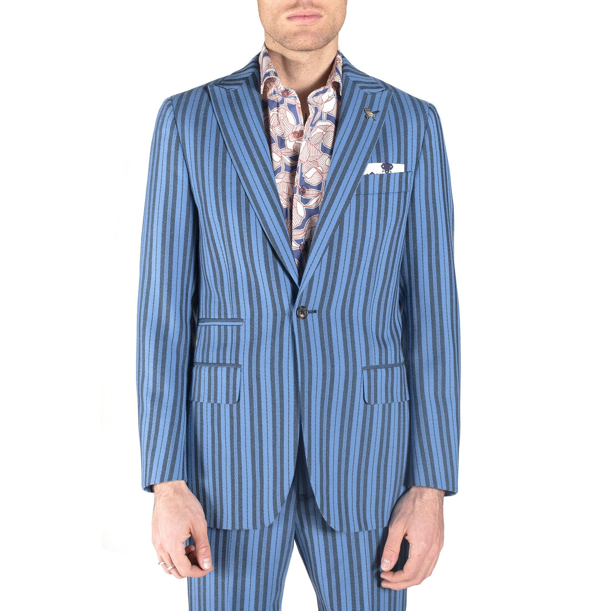 Blue Mustang Suit
