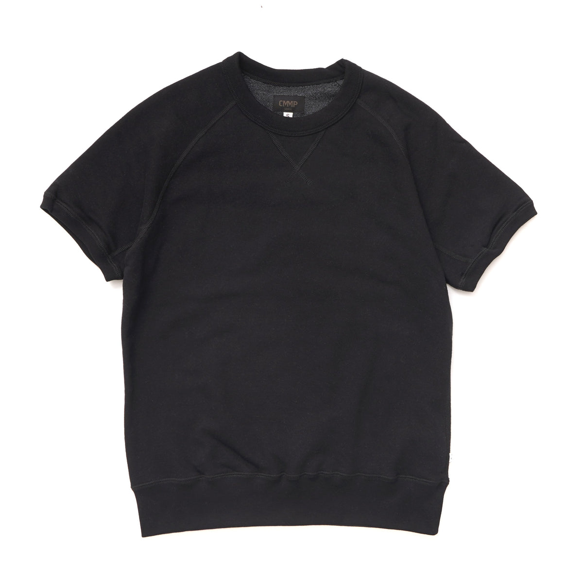 Crew Short Sleeved T - Black