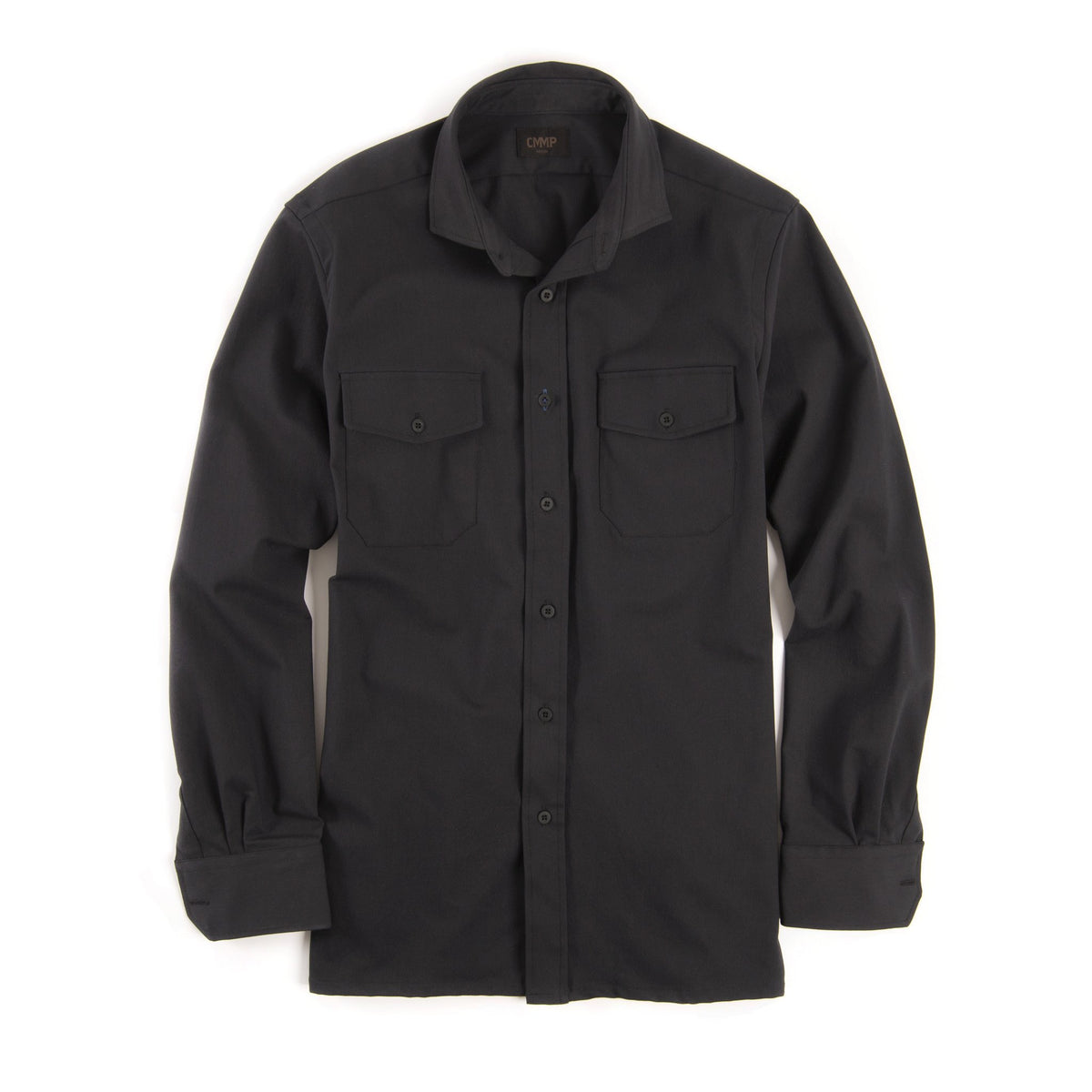 Tech Shirt Jacket - Black