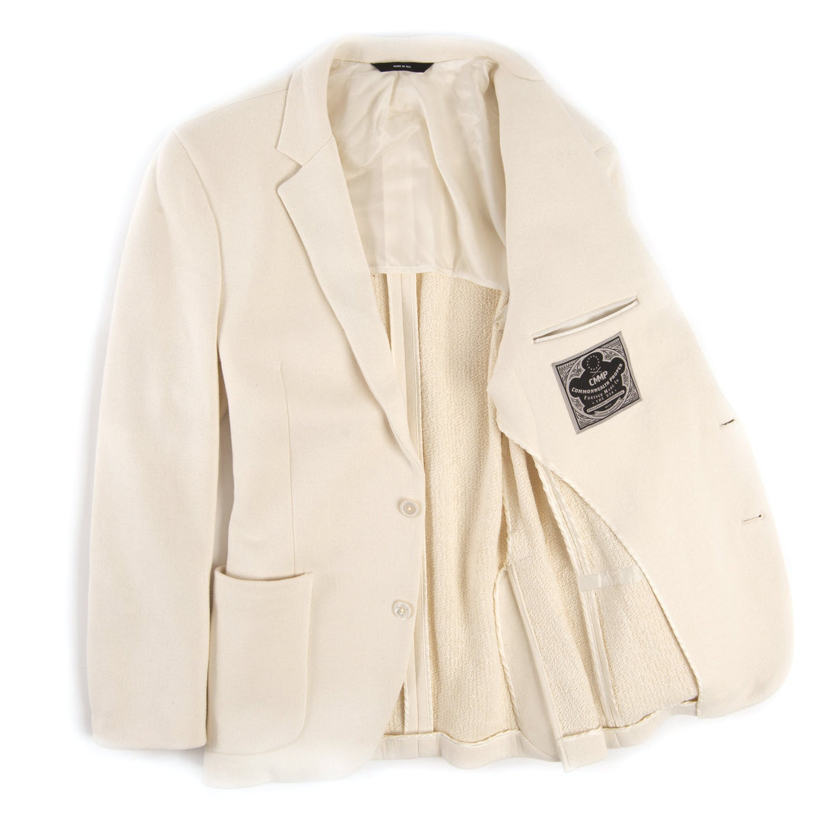 Cream Terry Blazer