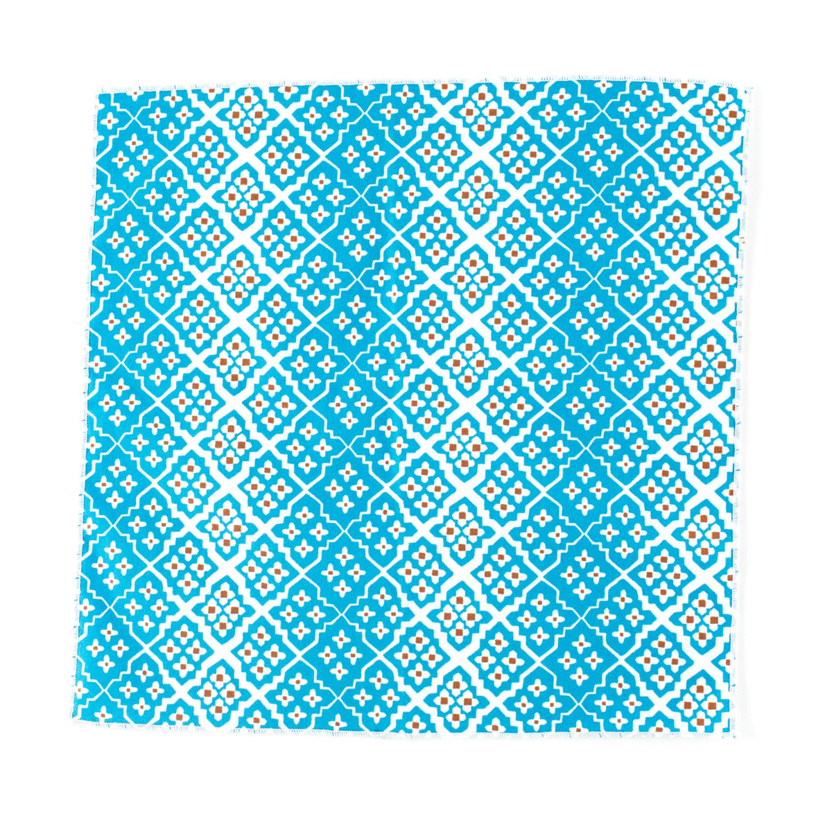 Alhambra Blue Pocket Square