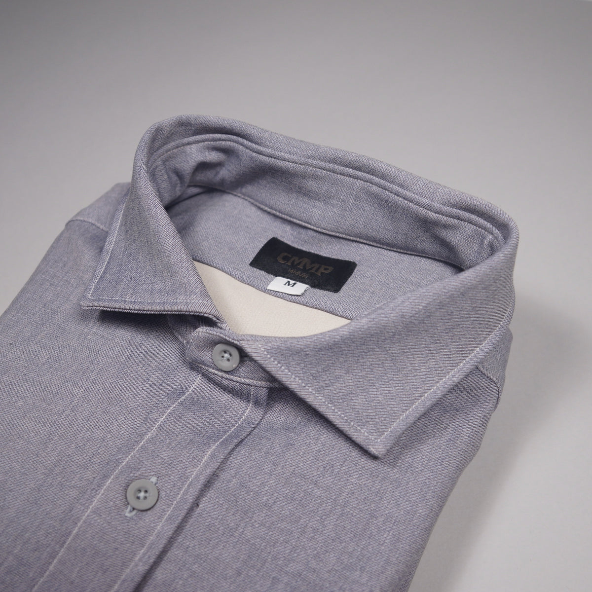 Tech Shirt Jacket - Grey