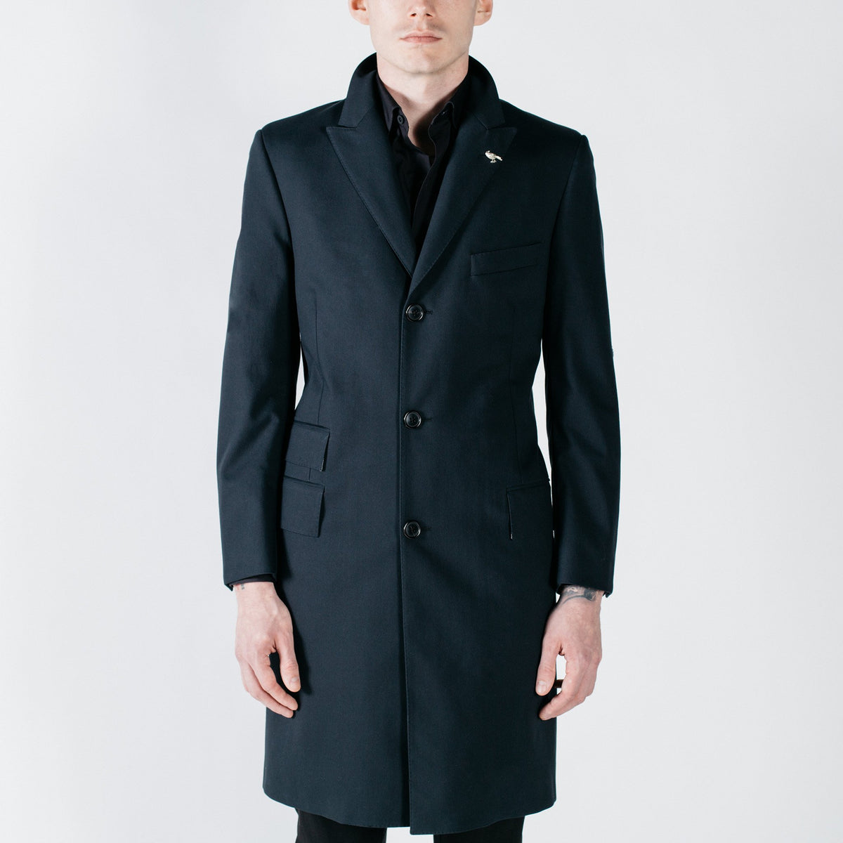 Stealth Raincoat - Black