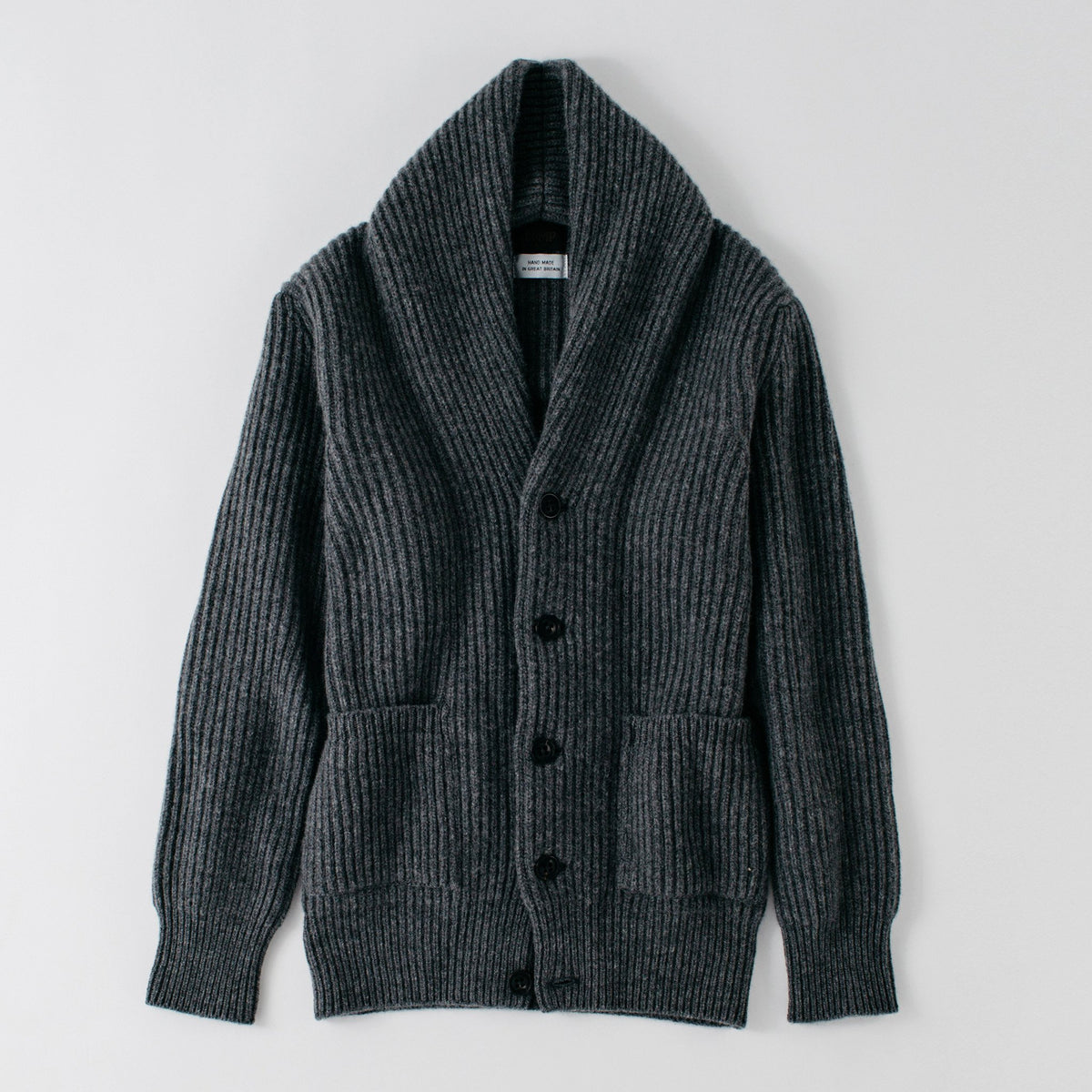 Rogue Shawl Cardigan - Grey