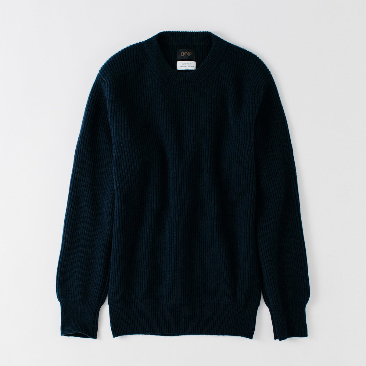 Smuggler Cashmere Crew Sweater - Nero Navy