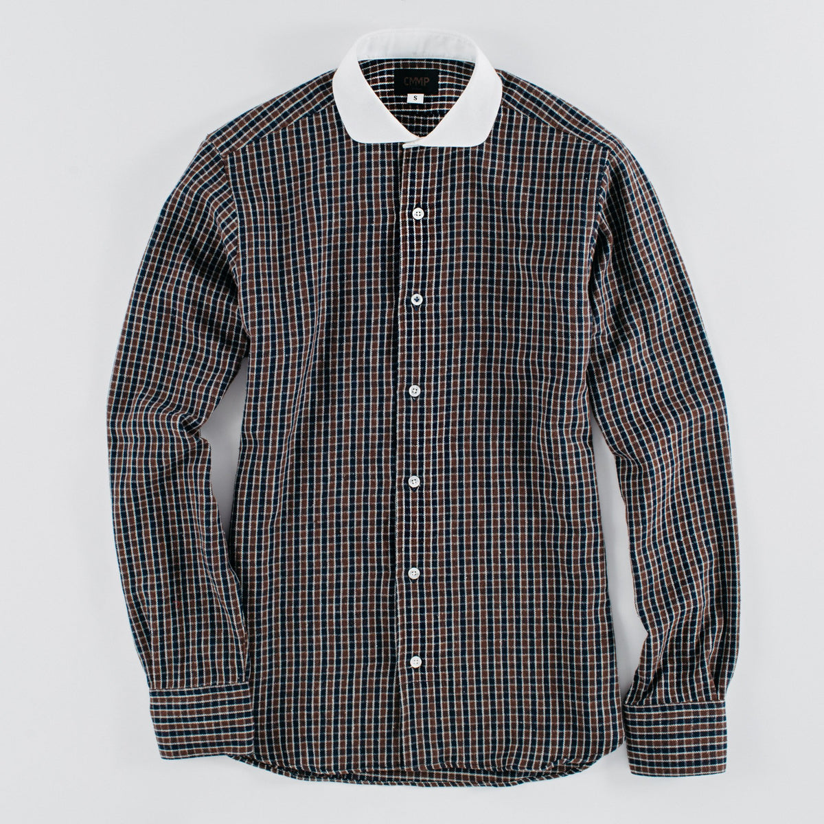 Blue/Brown Gingham Shirt