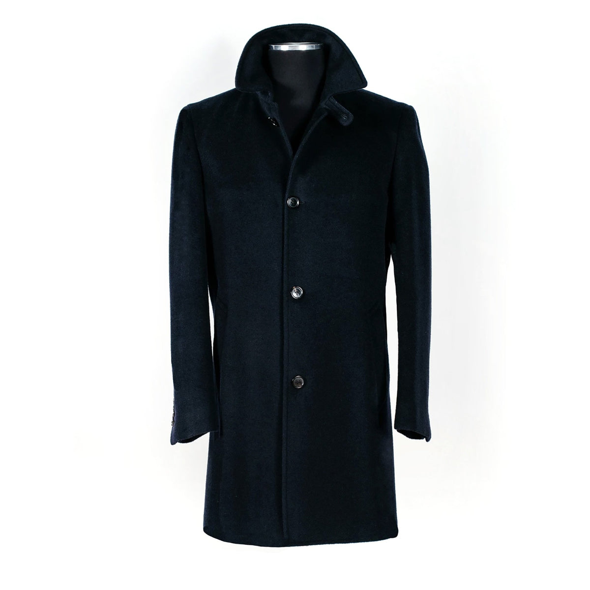 Hunter Topcoat - Navy