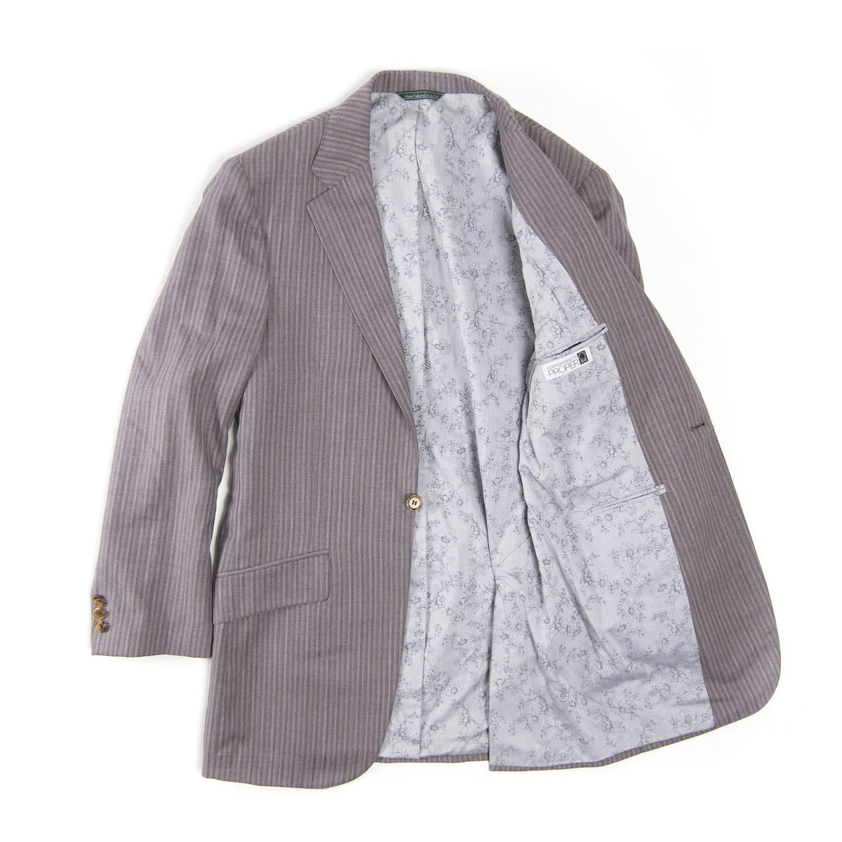 Purple Stripe Blazer