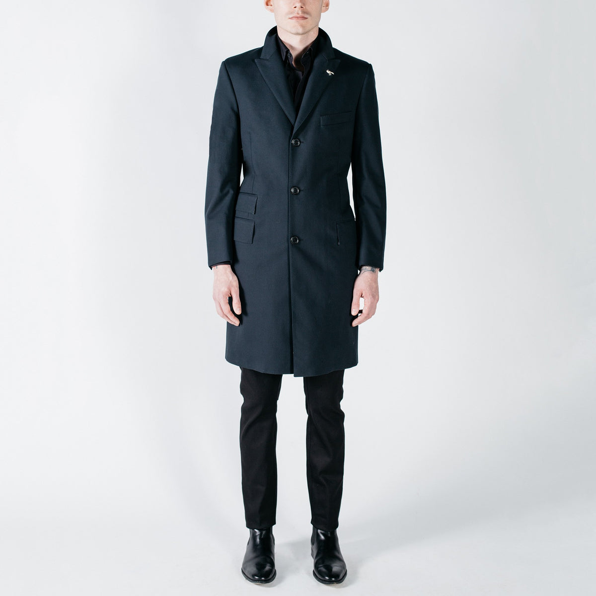 CORE // Black Tech Raincoat