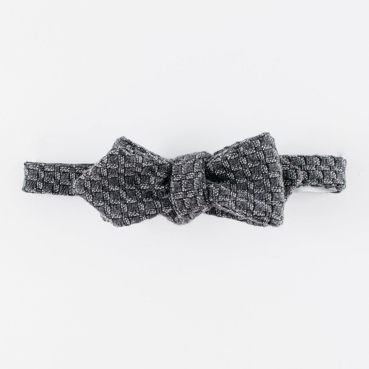 Black Blood Diamond Bow Tie