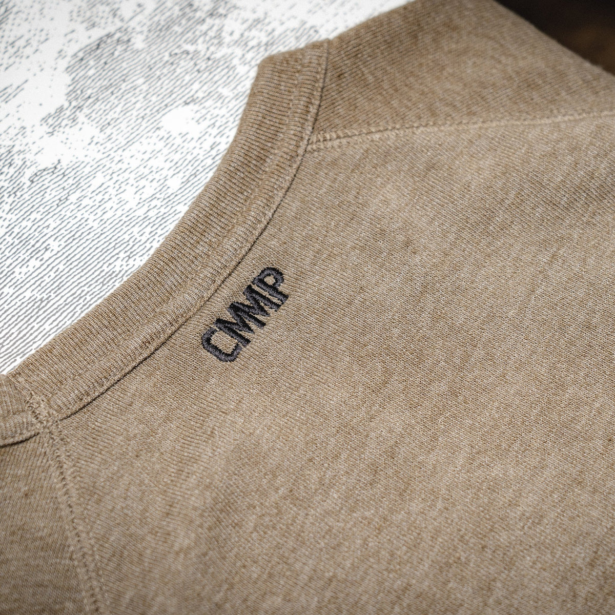 CMMP Color Block Sweatshirt - Olive