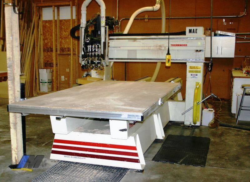 (2000) 5'X10' THERMWOOD MODEL C-40 4-AXIS CNC ROUTER