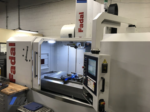 Late Model Used Fadal 6030 Low Hours Vertical Machining Center