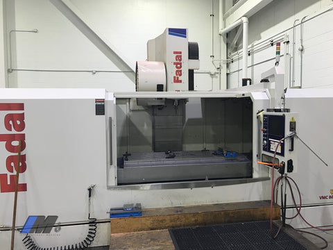 Late Model Used Fadal 80/32 Vertical Machining Center