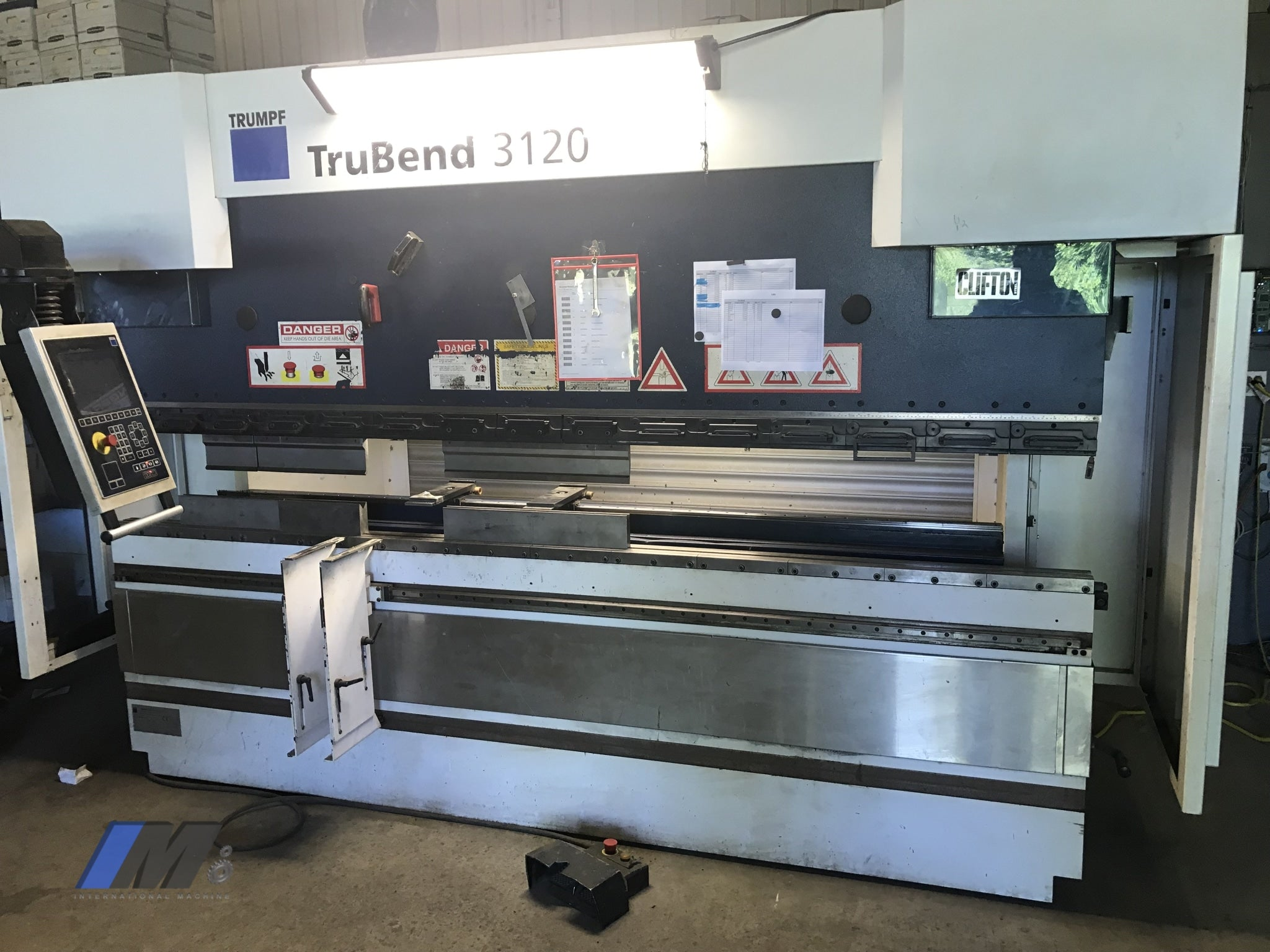 Trumpf Trubend 3120 Hydraulic Press Break