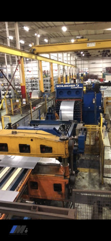 Used Schleicher Automation Ctl Line Press