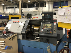 Used 1998 Mazak Qt 20 Turning Center