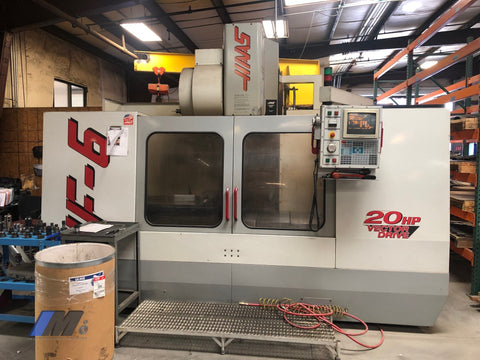 Used 1999 Haas Vf-6 Cnc Vertical Milling Machine Machining Center