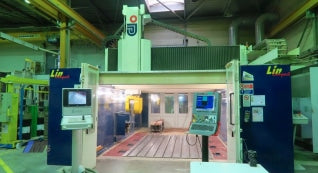 Used 2006 Jobs Linx Compact 5 Axis Vertical Machining Center