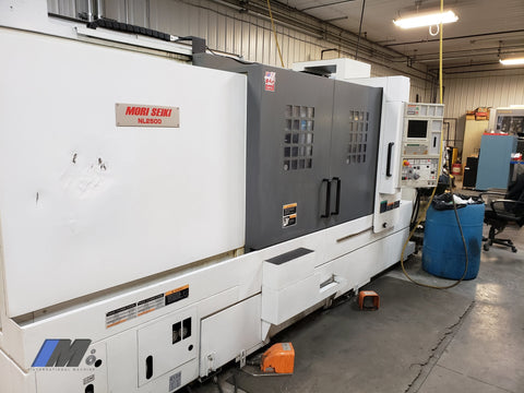 Used 2010 Mori Seiki Nl 2500 Sy/1250 Turning Center