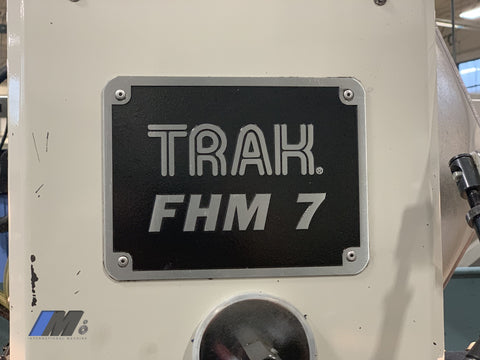 Used 2014 Southwest Trak Fhm 7 Vertical Mill