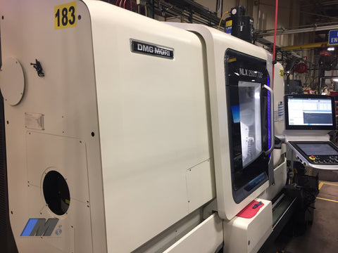 Used 2017 Dmg Mori Nlx 2500 Sy Horizontal Machining Center