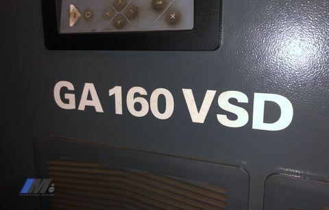 Used Ga 160 Vsd Compressor Air