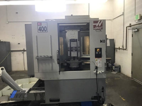 Used Haas Ec-400 Mid 2000 Horizontal Machining Center