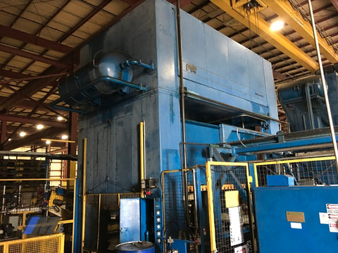 Used Ptc 4 Post Hydraulic Press 400 Ton