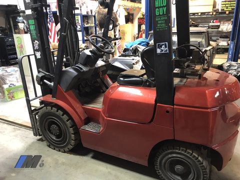 Used Toyota Forklift Truck Only 2 000 Hours Hilo