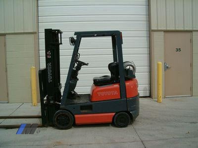 Used Toyota Forklifts Hilo