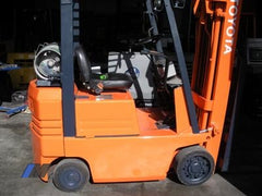 Used Toyota Forklifts