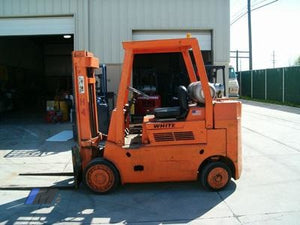 Used White Forklifts Hilo