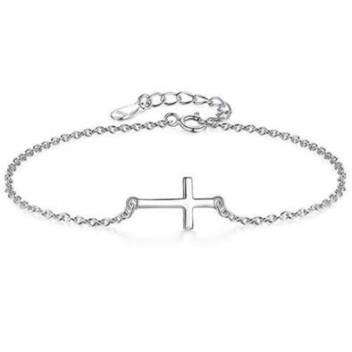 Simple Cross Bracelet