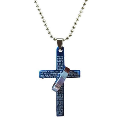 Cross & Circle Necklace