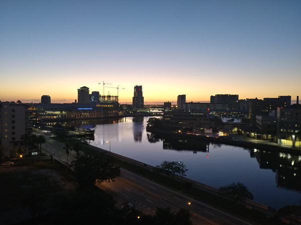 Tampa Bay (Hillsborough River) - bemoxe is Located