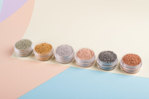 Different clay powders to use for essential oil face masks