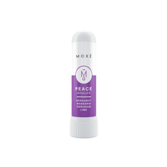 Moxe Peace Inhalers incorporates lime oil to help balance mood and promote a peaceful mindset.