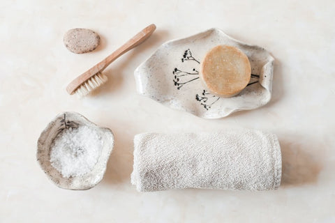 Using a wash cloth to diffuse essential oils in your shower can be an easy way to DIY an amazing shower experience.