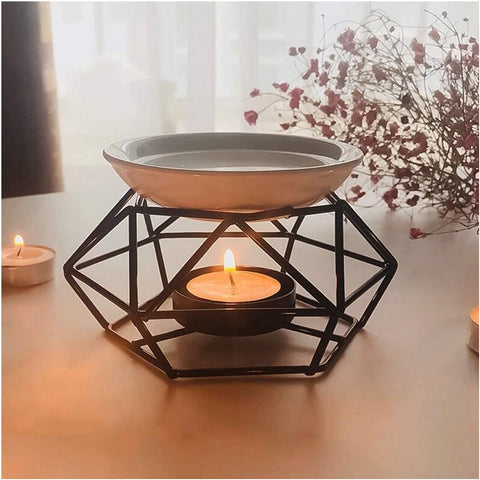 candle diffuser to scent a room with essential oils