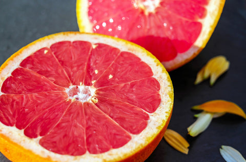 grapefruit essential oil used in moxe multi-surface spray for its antibacterial properties