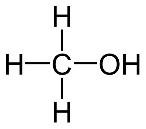 methanol chemical structure