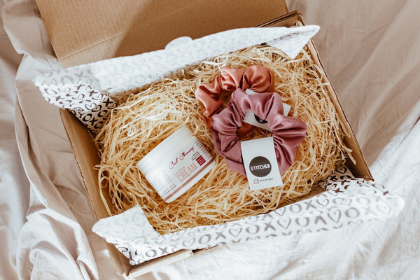 subscription box filled with gifts for Mother's Day